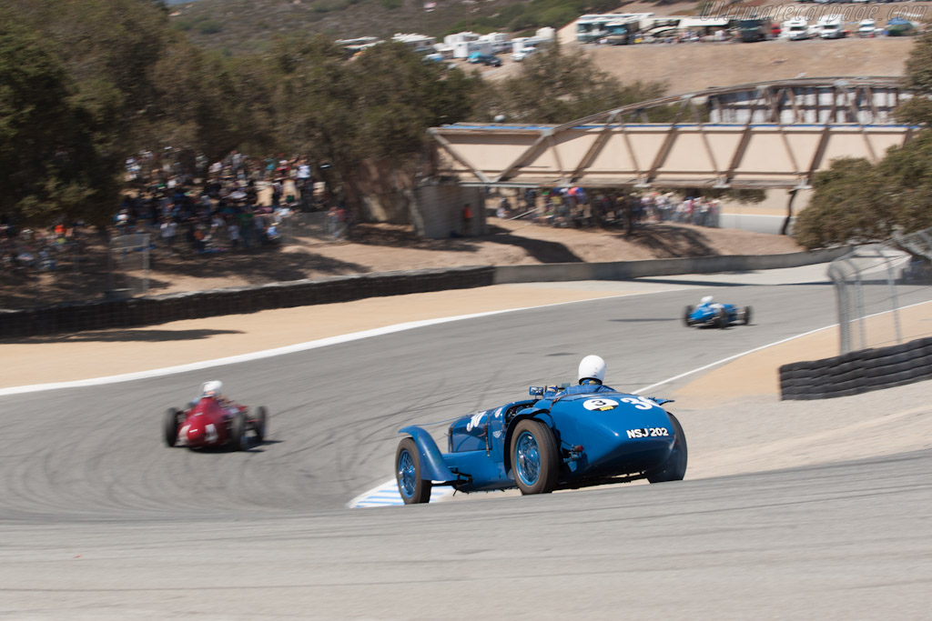 Delahaye 135 S - Chassis: 47190   - 2012 Monterey Motorsports Reunion