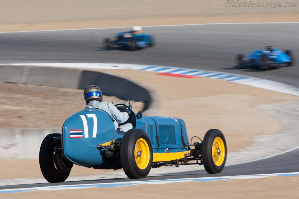 ERA B-Type - Chassis: R2B - Driver: Greg Whitten  - 2012 Monterey Motorsports Reunion