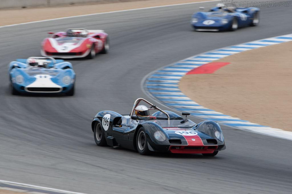 Elva Mk8 - Chassis: 80/04   - 2012 Monterey Motorsports Reunion