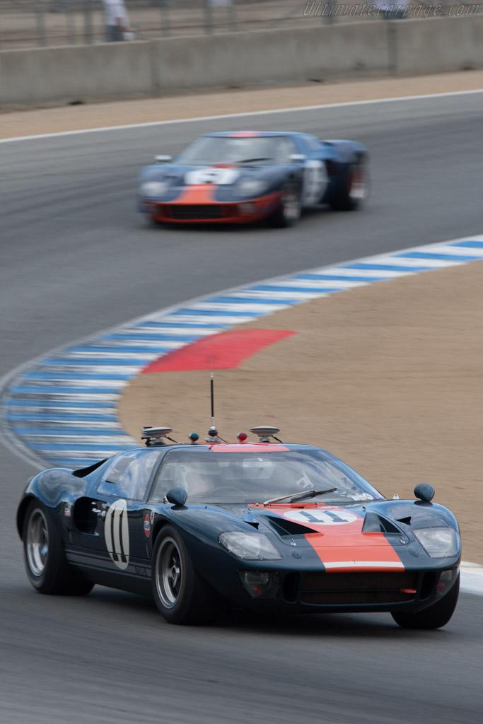 Ford GT40 - Chassis: GT40P/1049 - Entrant: Collier Automotive Museum - Driver: Brian Redman  - 2012 Monterey Motorsports Reunion