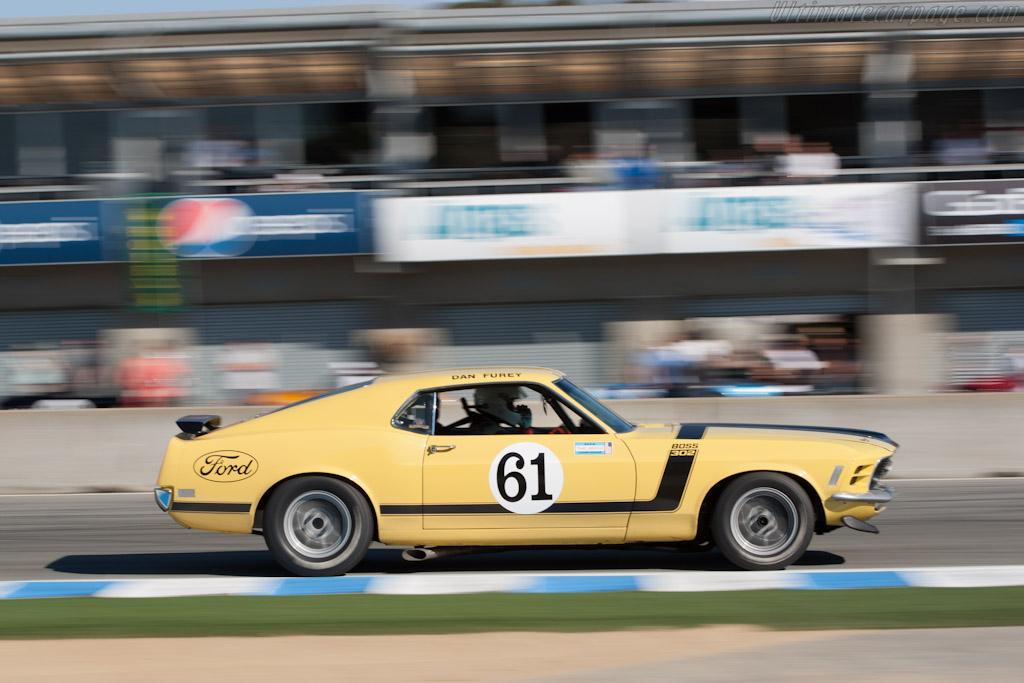Ford Mustang BOSS 302    - 2012 Monterey Motorsports Reunion
