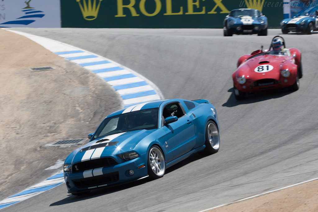 Ford Shelby Mustang GT500 Cobra    - 2012 Monterey Motorsports Reunion