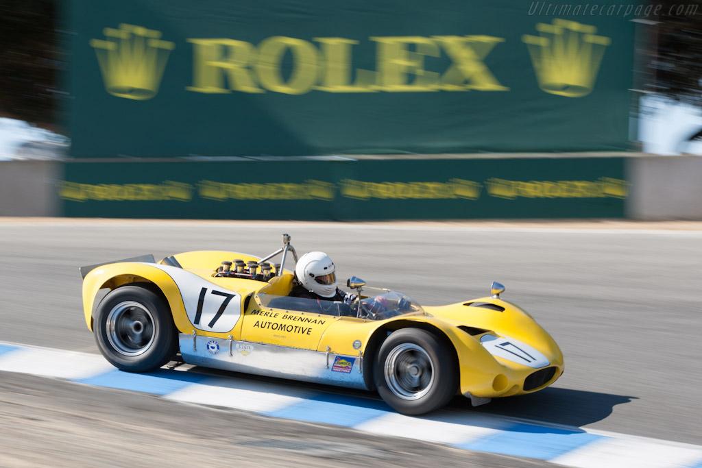 Genie Mk10B    - 2012 Monterey Motorsports Reunion