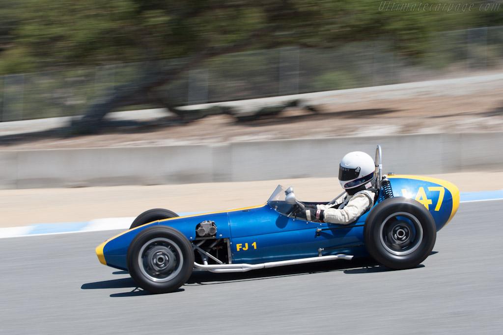 Huffaker Formula Junior    - 2012 Monterey Motorsports Reunion