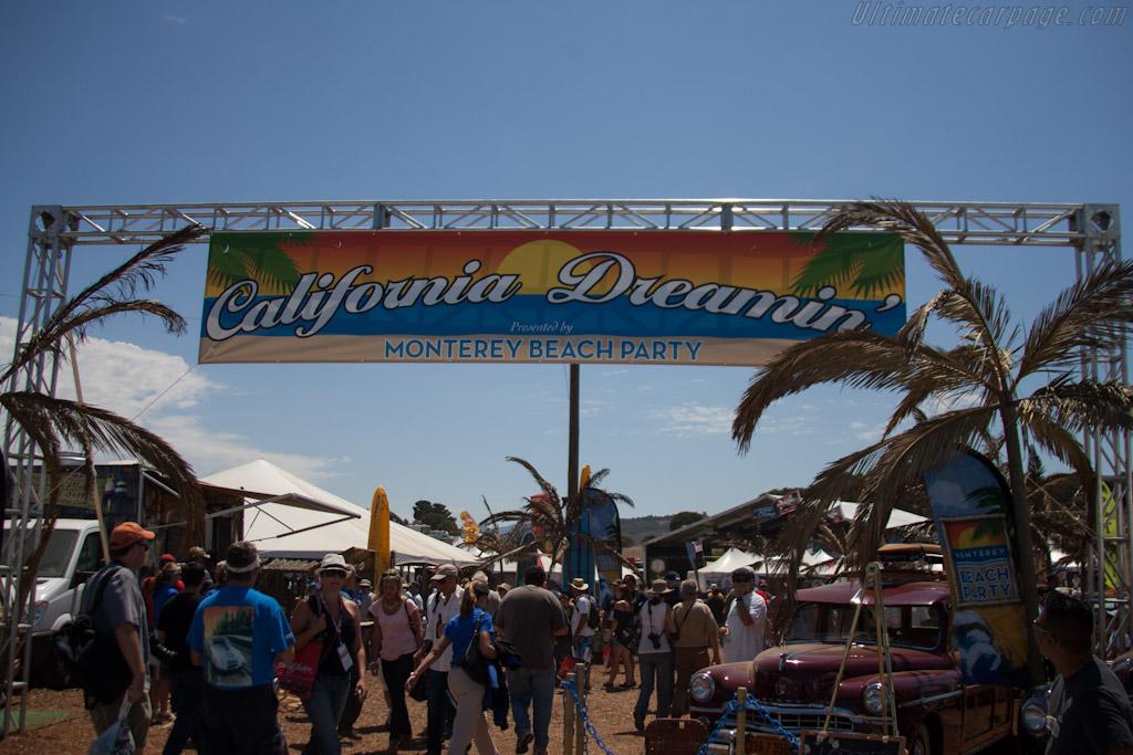 Infield activities    - 2012 Monterey Motorsports Reunion