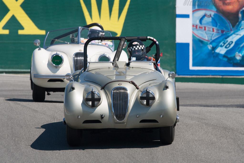 Jaguar XK120 SE    - 2012 Monterey Motorsports Reunion