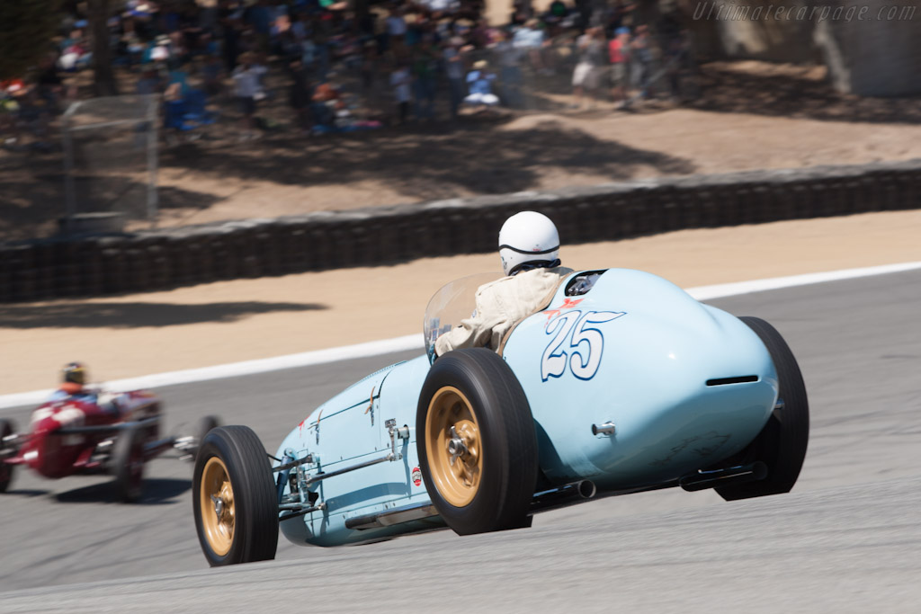 Kurtis Kraft 500A    - 2012 Monterey Motorsports Reunion