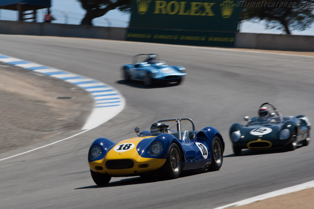 Lister Knobbly Jaguar    - 2012 Monterey Motorsports Reunion