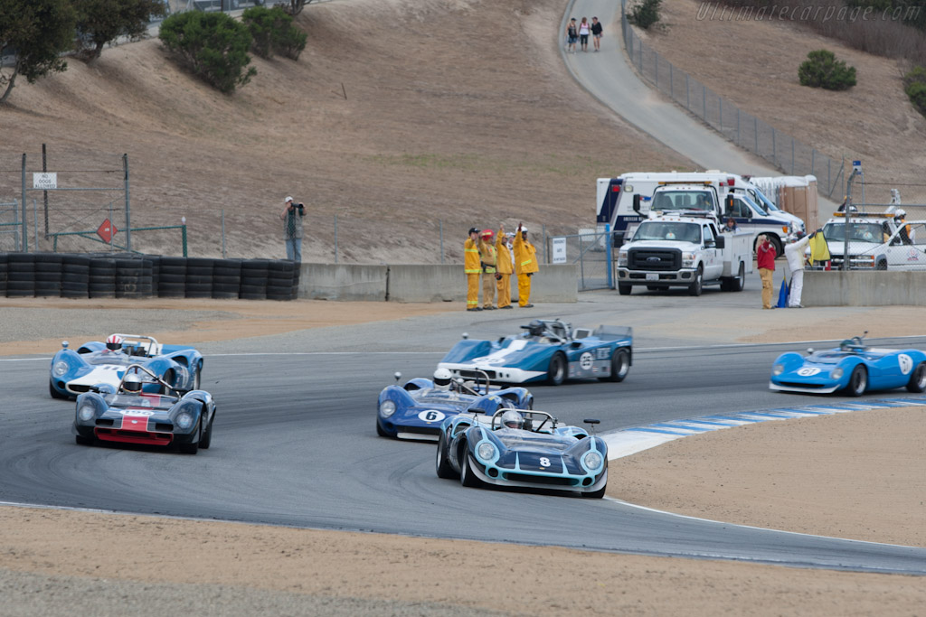 Lola T70 - Chassis: SL70/10 - Driver: Bryon Defoor  - 2012 Monterey Motorsports Reunion
