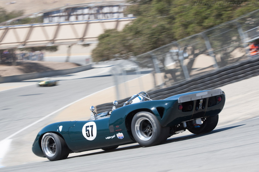 Lola T70 Mk II Chevrolet - Chassis: SL71/22  - 2012 Monterey Motorsports Reunion