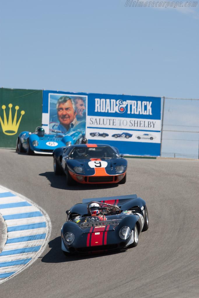 Lola T70 Mk II Chevrolet - Chassis: SL71/36   - 2012 Monterey Motorsports Reunion
