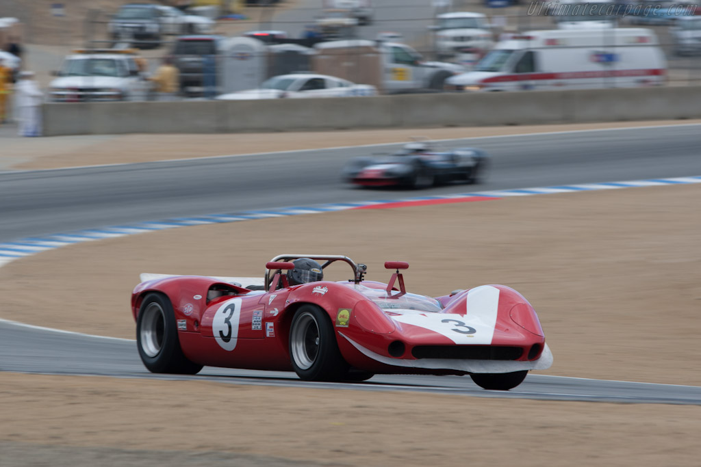 Lola T70 Mk II Chevrolet - Chassis: SL71/17   - 2012 Monterey Motorsports Reunion