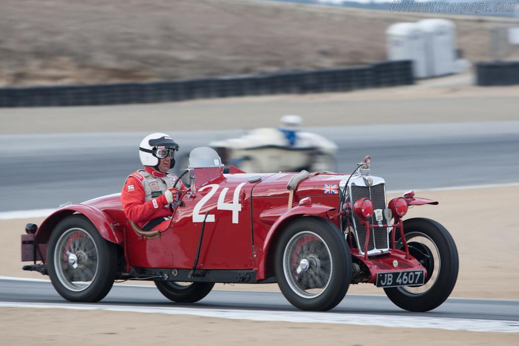 MG NE    - 2012 Monterey Motorsports Reunion