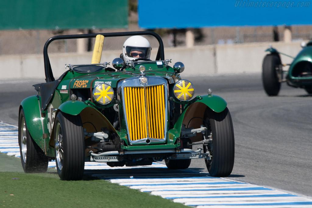 MG TD    - 2012 Monterey Motorsports Reunion