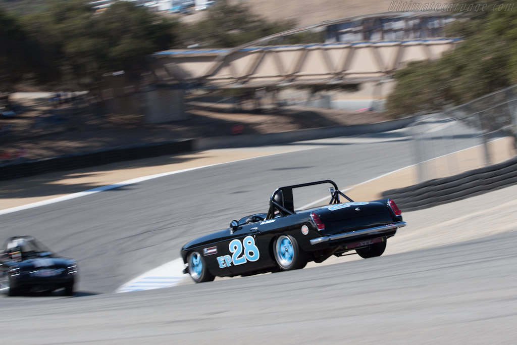 MGB Roadster    - 2012 Monterey Motorsports Reunion
