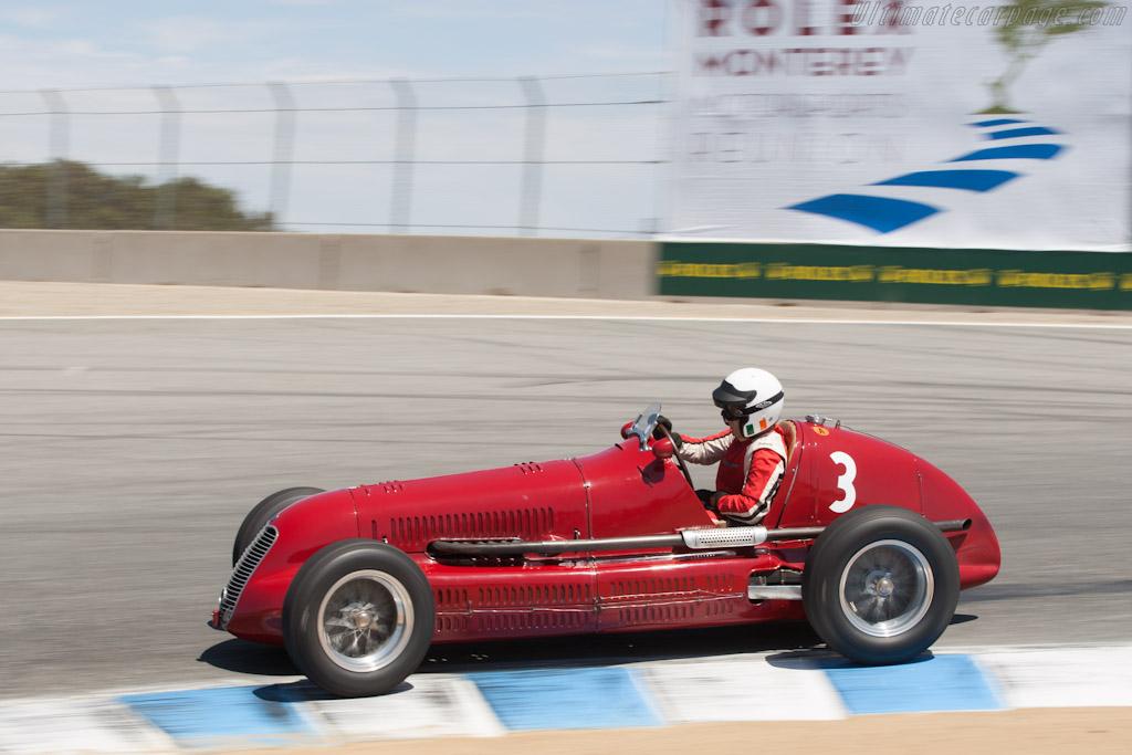 Maserati 4CL - Chassis: 1564 - Driver: Paddins Dowling  - 2012 Monterey Motorsports Reunion