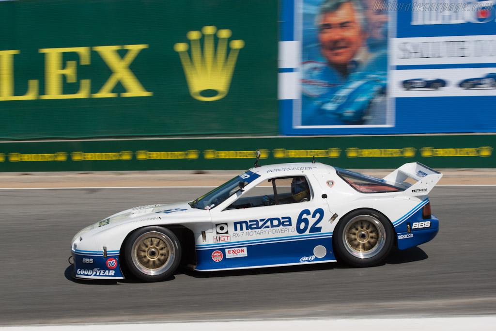 Mazda RX-7 GTO - Chassis: GTO 001 - Driver: Jeremy Barnes  - 2012 Monterey Motorsports Reunion
