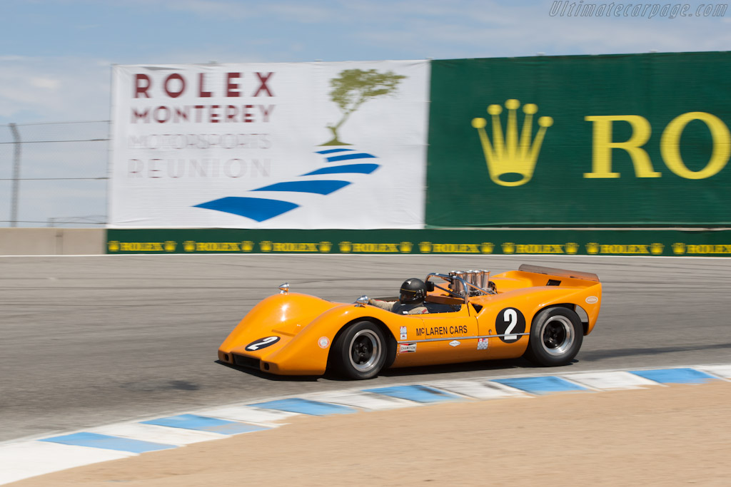 McLaren M6B - Chassis: 50-07A   - 2012 Monterey Motorsports Reunion