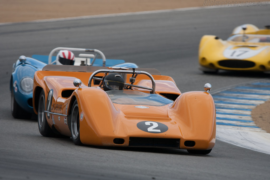 McLaren M6B - Chassis: 50-07A   - 2012 Monterey Motorsports Reunion