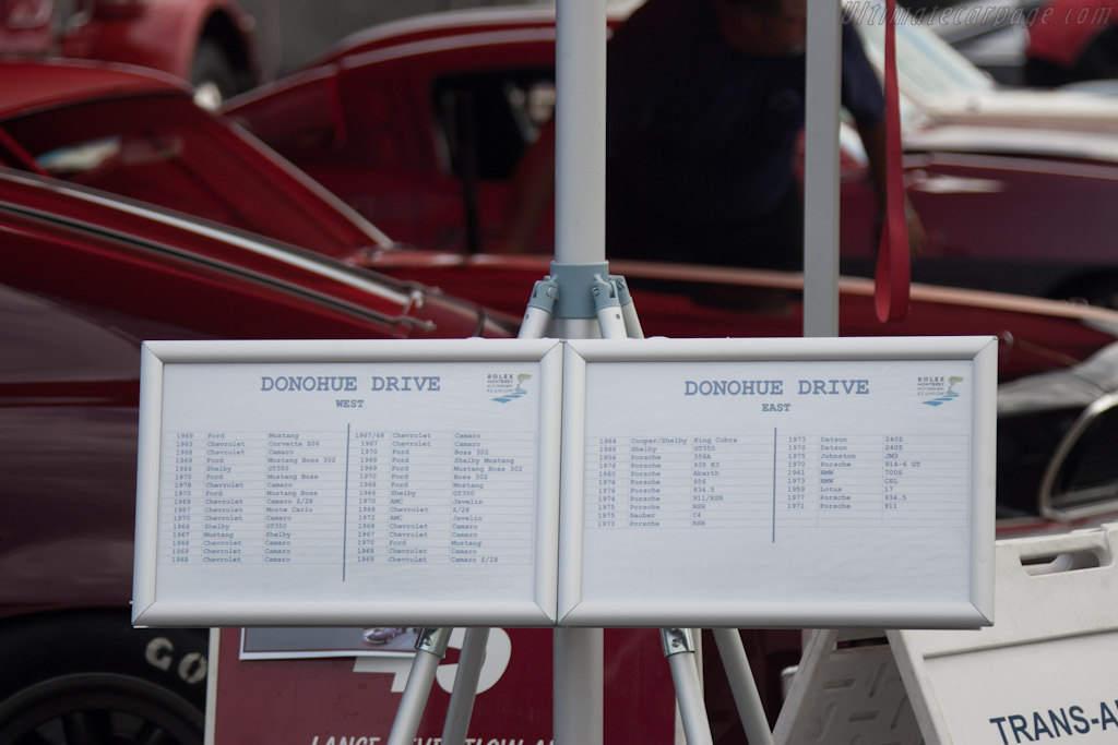 Paddock allocation    - 2012 Monterey Motorsports Reunion