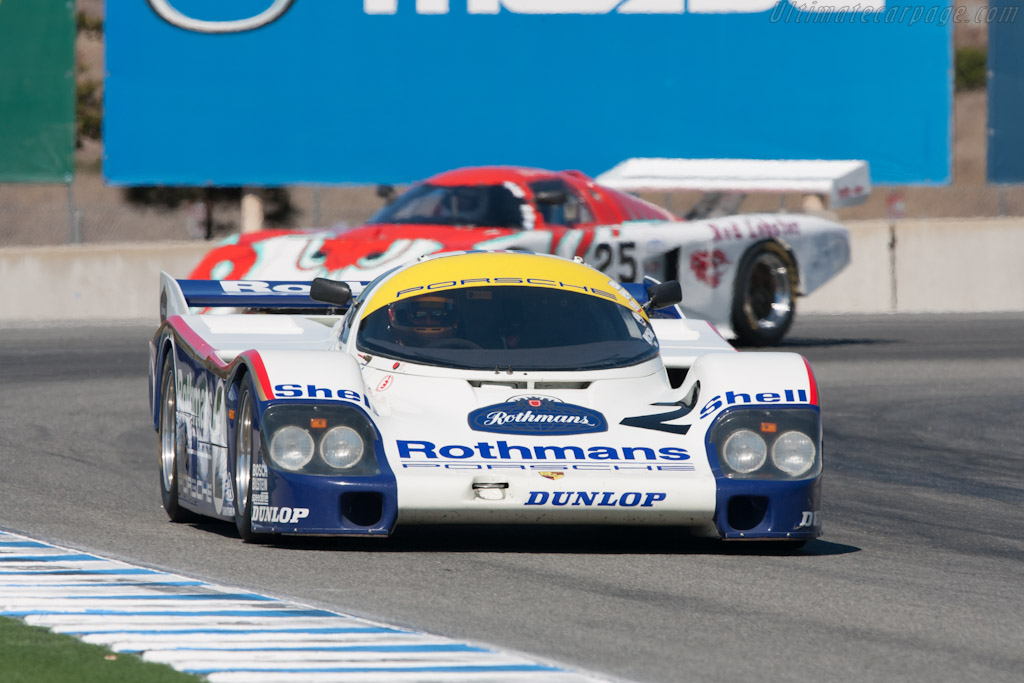 Porsche 956 - Chassis: 956-006   - 2012 Monterey Motorsports Reunion
