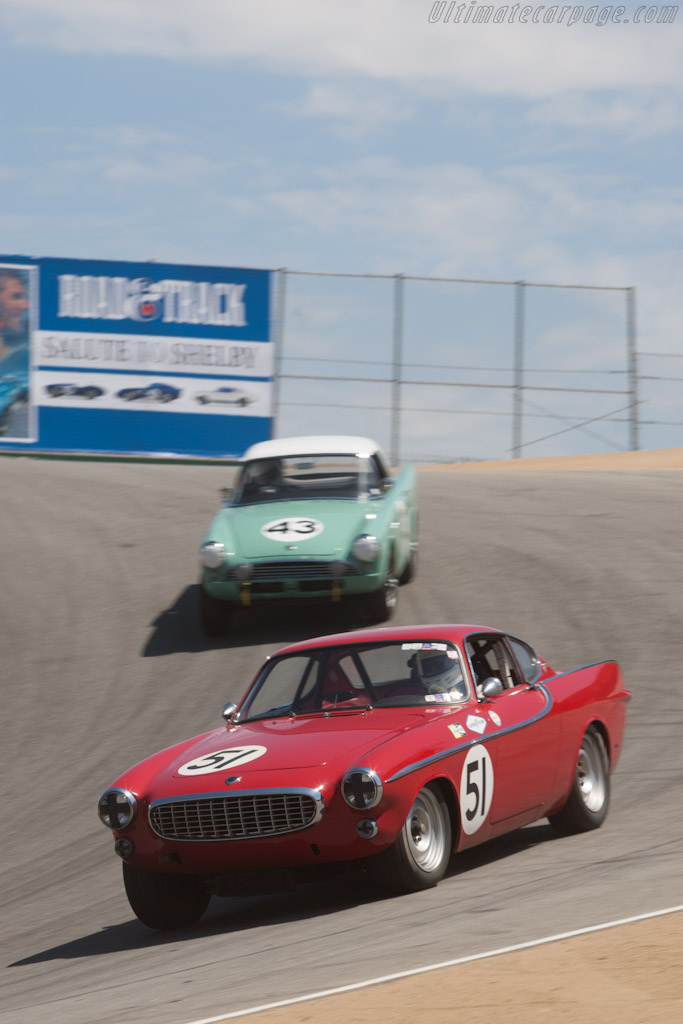 Volvo P1800    - 2012 Monterey Motorsports Reunion
