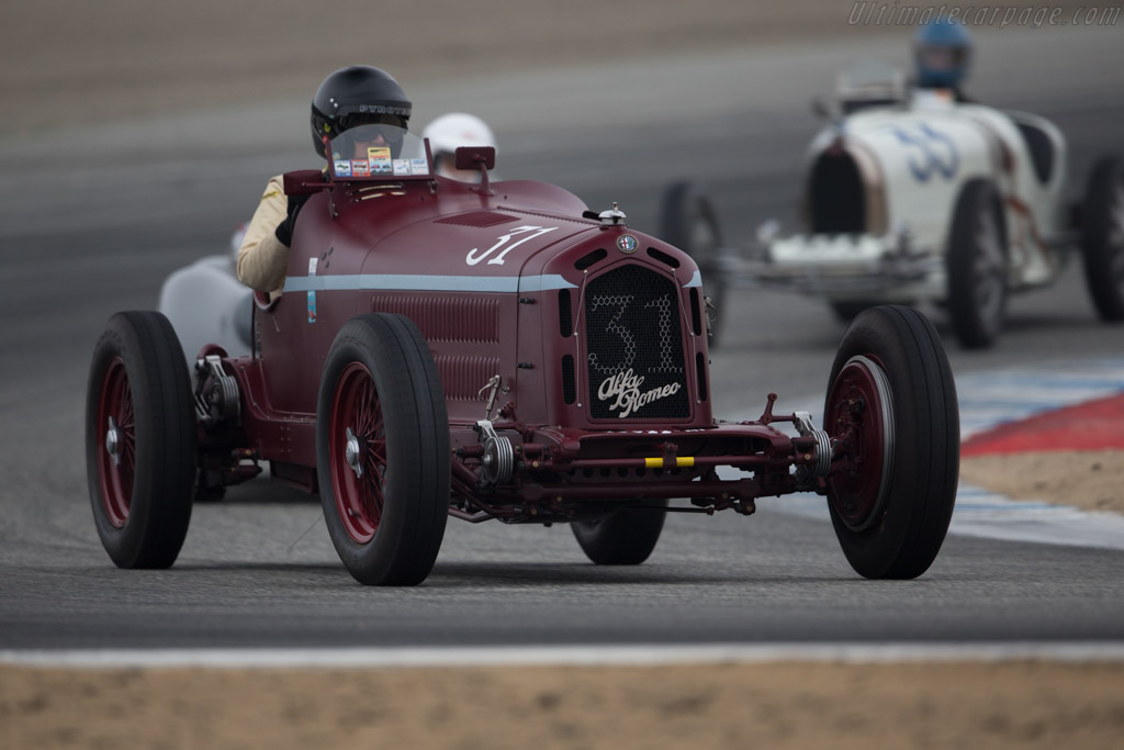 Alfa Romeo 8C 2300 Monza - Chassis: 2111037 - Entrant / Driver Peter Giddings  - 2016 Monterey Motorsports Reunion