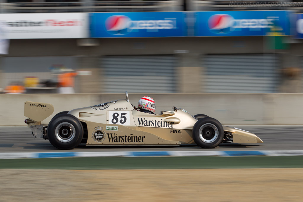 Arrows FA1 - Chassis: FA1-1 - Driver: Ron Maydon  - 2016 Monterey Motorsports Reunion
