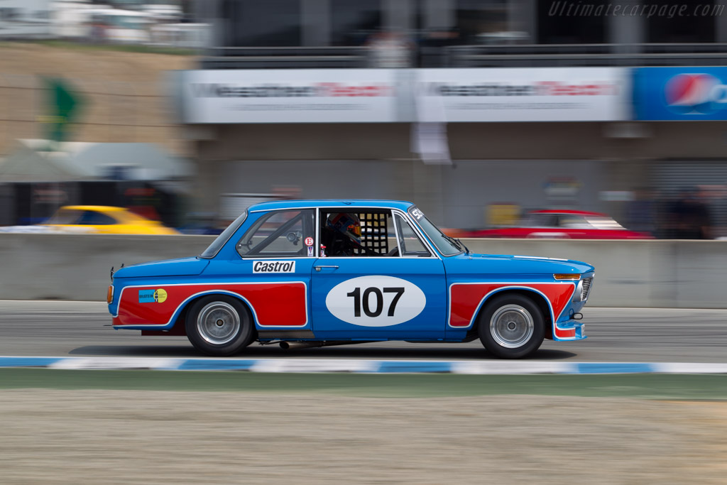 BMW 2002 - Chassis: 090941 - Entrant / Driver Billy Glavin III  - 2016 Monterey Motorsports Reunion