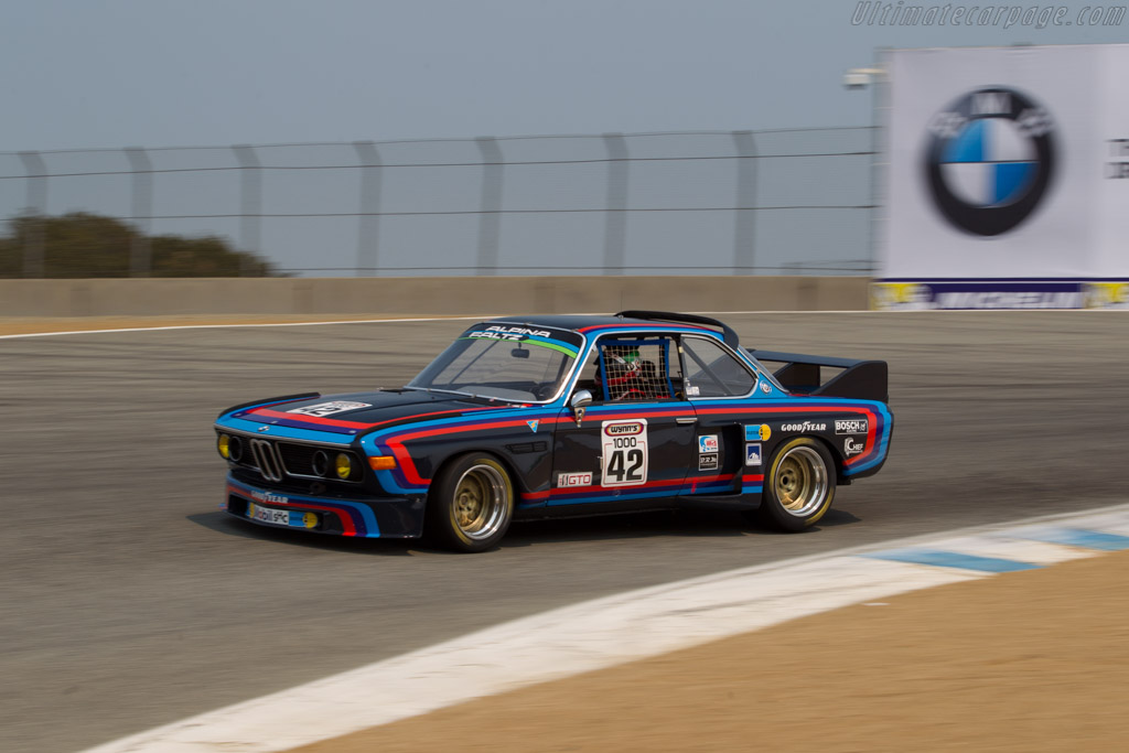 BMW 3.0 CSL - Chassis: 2211366 - Entrant / Driver Mark Colbert  - 2016 Monterey Motorsports Reunion