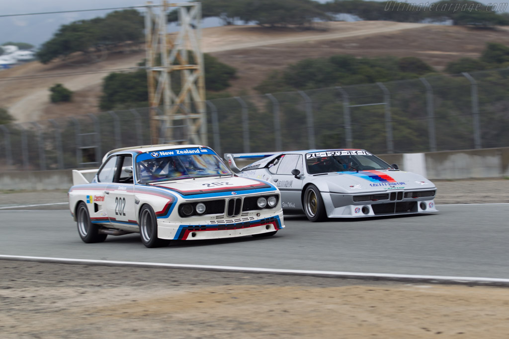 BMW 3.0 CSL Turbo - Chassis: 4330091 - Driver: Ch. DeHaan  - 2016 Monterey Motorsports Reunion