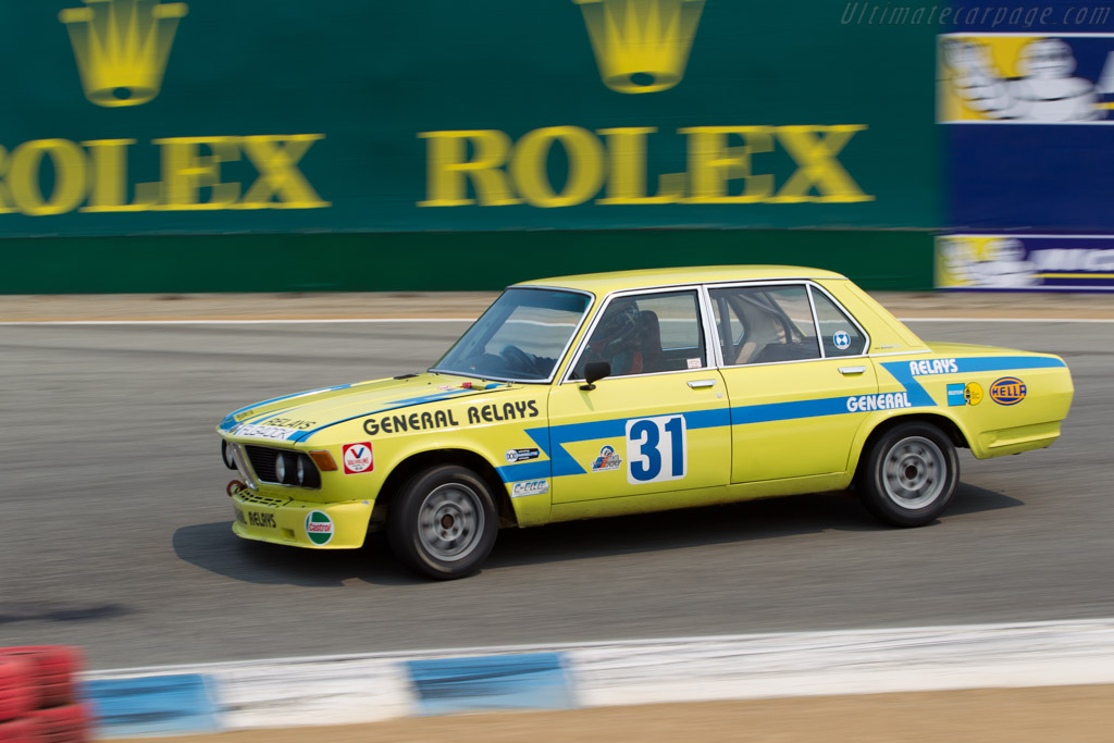 BMW 3.0 S - Chassis: 2183733 - Entrant / Driver Arthur Porter  - 2016 Monterey Motorsports Reunion