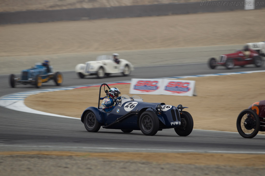 BMW 315/1 Willis Special - Chassis: 51203 - Entrant / Driver Steve Walker  - 2016 Monterey Motorsports Reunion