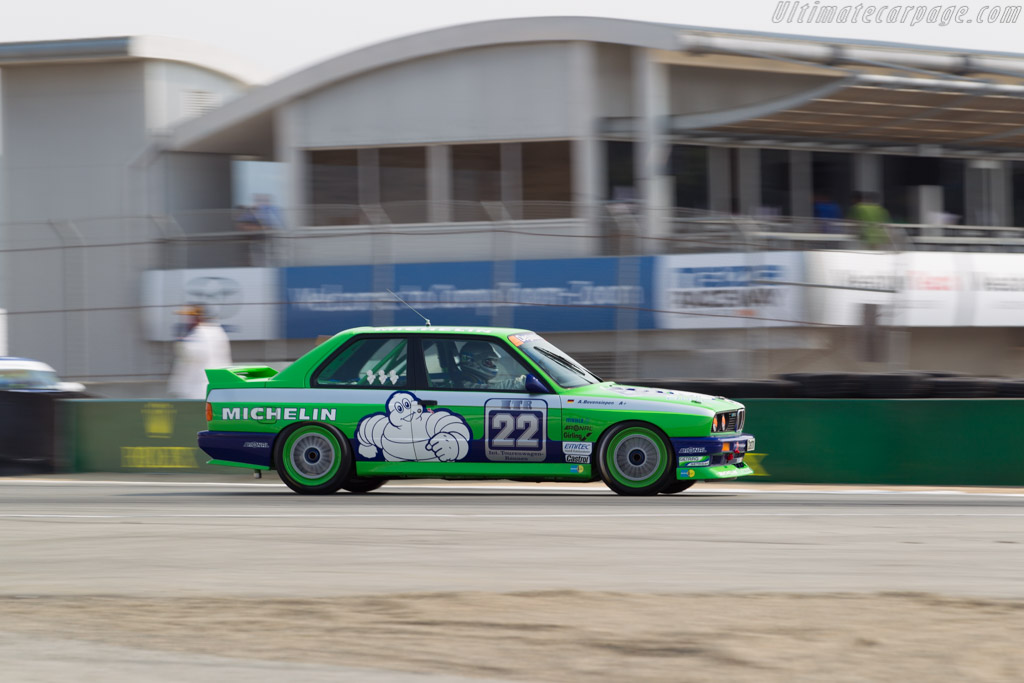 BMW Alpina M3 - Chassis: M3-48 - Driver: Andreas Bovensiepen  - 2016 Monterey Motorsports Reunion