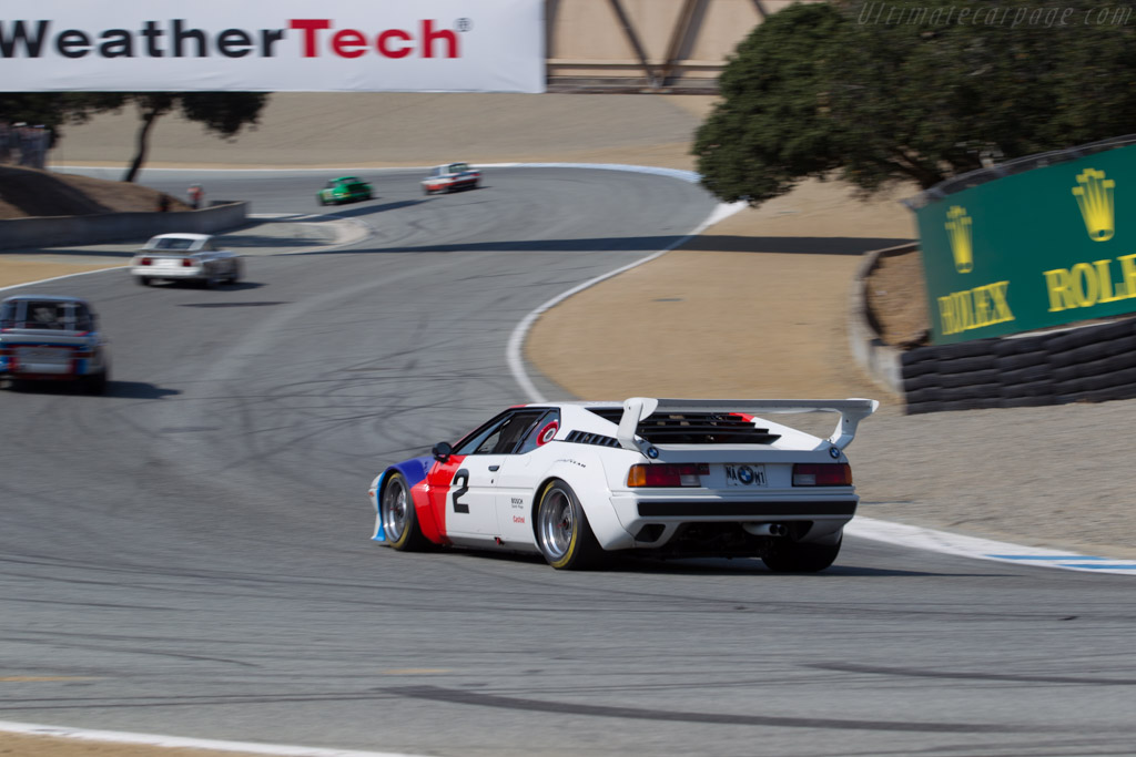 BMW M1 - Chassis: 4301223 - Driver: Lawrence Ulrich - 2016 Monterey Motorsports Reunion
