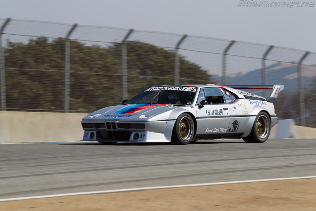bmw m1 procar chassis 4301077 driver chris bowden 2016 monterey motorsports reunion. Black Bedroom Furniture Sets. Home Design Ideas