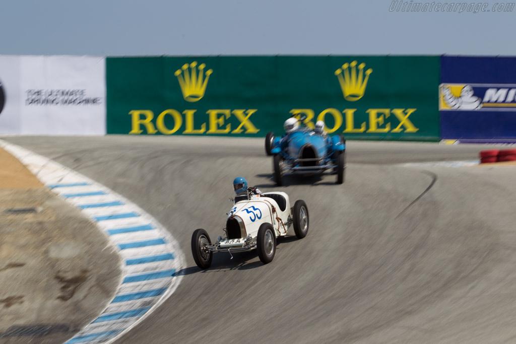 Bugatti Type 37 - Chassis: 37265 - Driver: Andrew Larson  - 2016 Monterey Motorsports Reunion