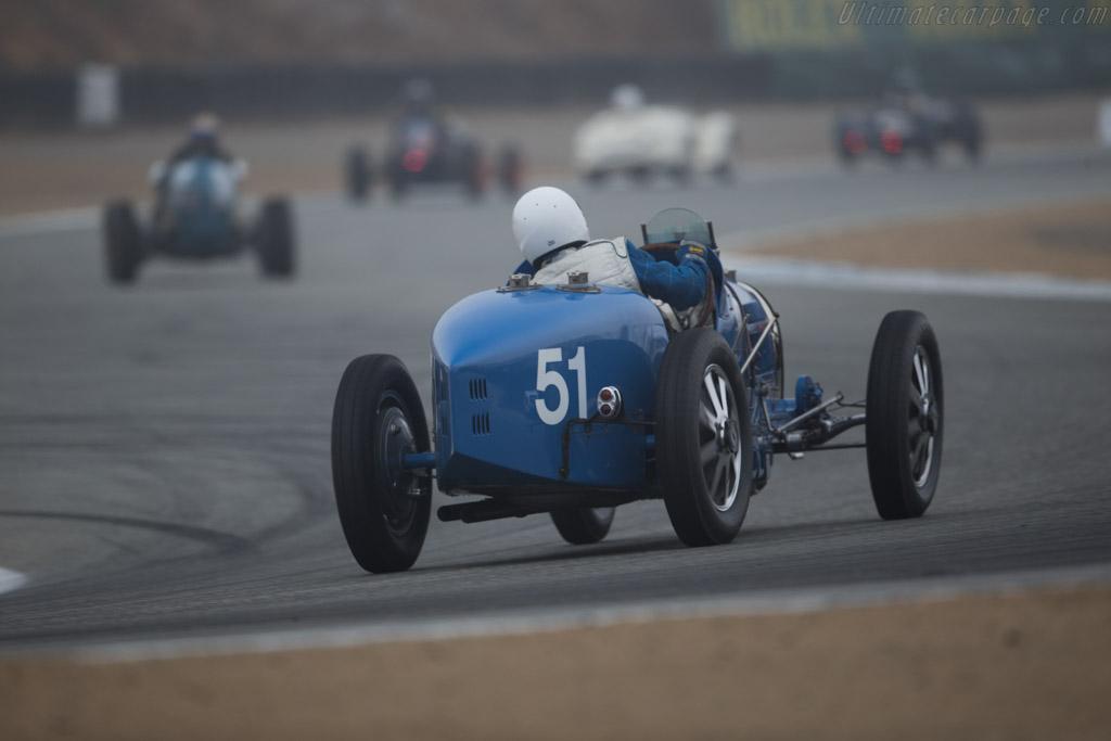 Bugatti Type 51 - Chassis: BC-32 - Entrant / Driver Craig Barto  - 2016 Monterey Motorsports Reunion
