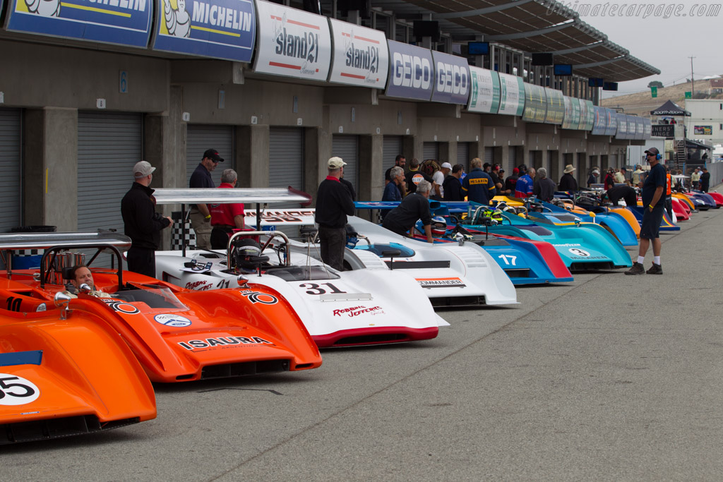 Can-Am cars    - 2016 Monterey Motorsports Reunion
