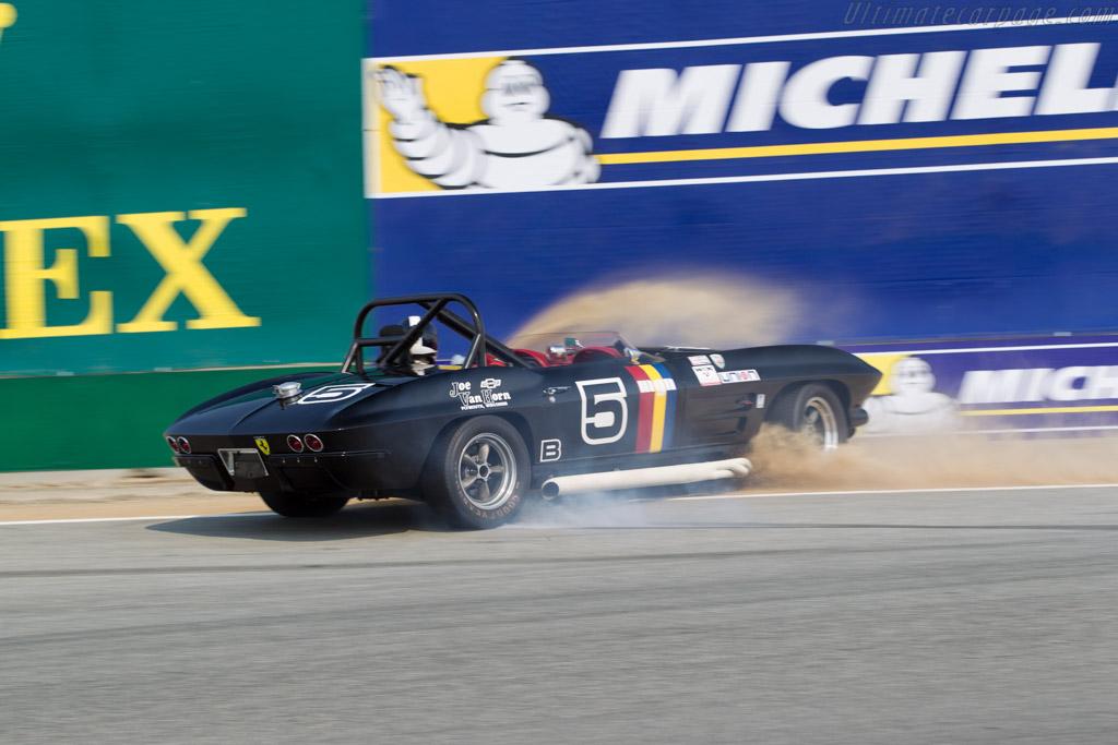 Chevrolet Corvette - Chassis: 40867S104780 - Driver: Jeffrey Abrahamson  - 2016 Monterey Motorsports Reunion