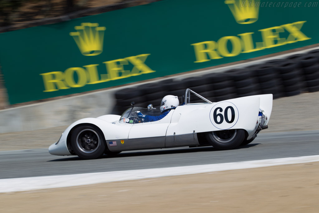 Cooper Monaco Mk3 - Chassis: CM-3-61 - Entrant / Driver Jefrrey Heller  - 2016 Monterey Motorsports Reunion