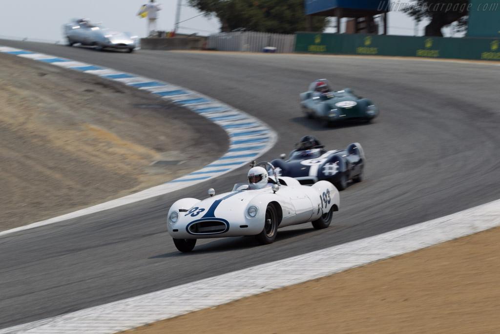 Cooper T39 Bobtail - Chassis: CSII/6/56 - Entrant / Driver Jimmy Domingos  - 2016 Monterey Motorsports Reunion
