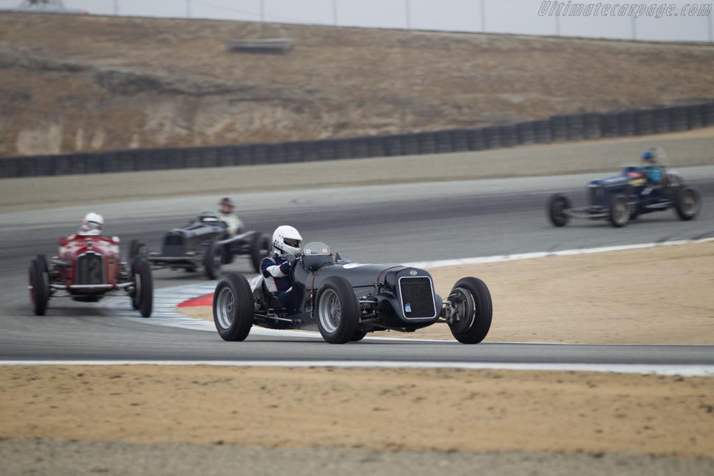 Delage-ERA - Chassis: 1 - Driver: Derek Hill  - 2016 Monterey Motorsports Reunion