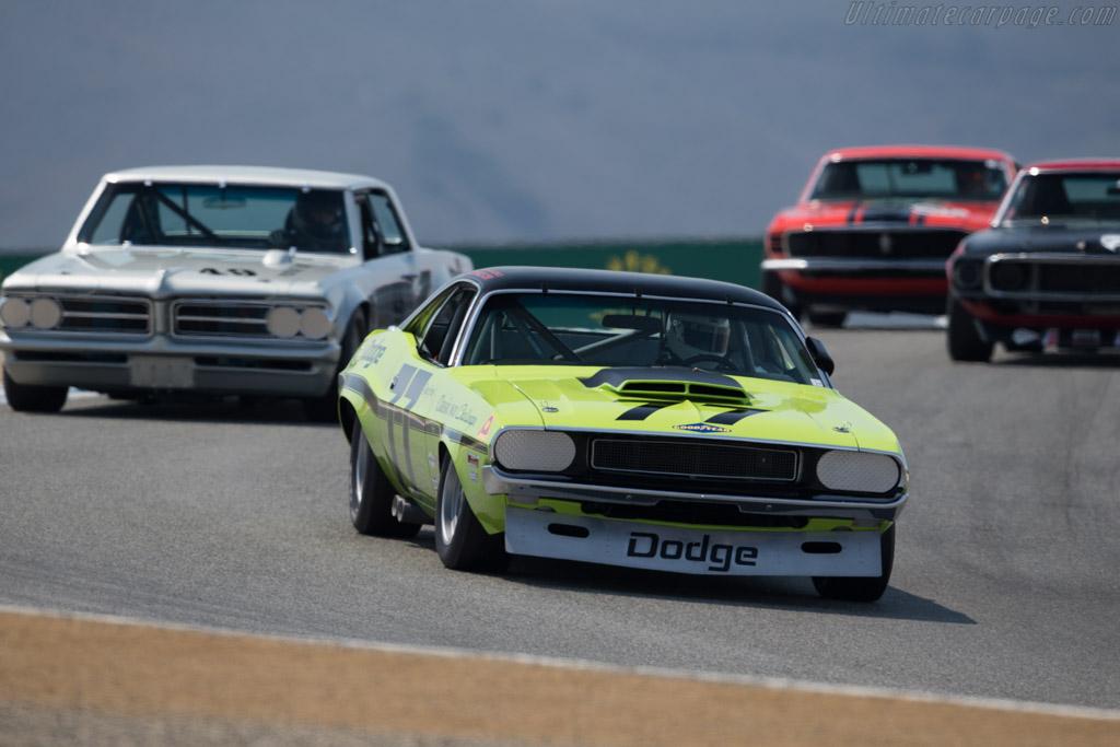 Dodge Challenger  - Driver: Richard Goldsmith  - 2016 Monterey Motorsports Reunion