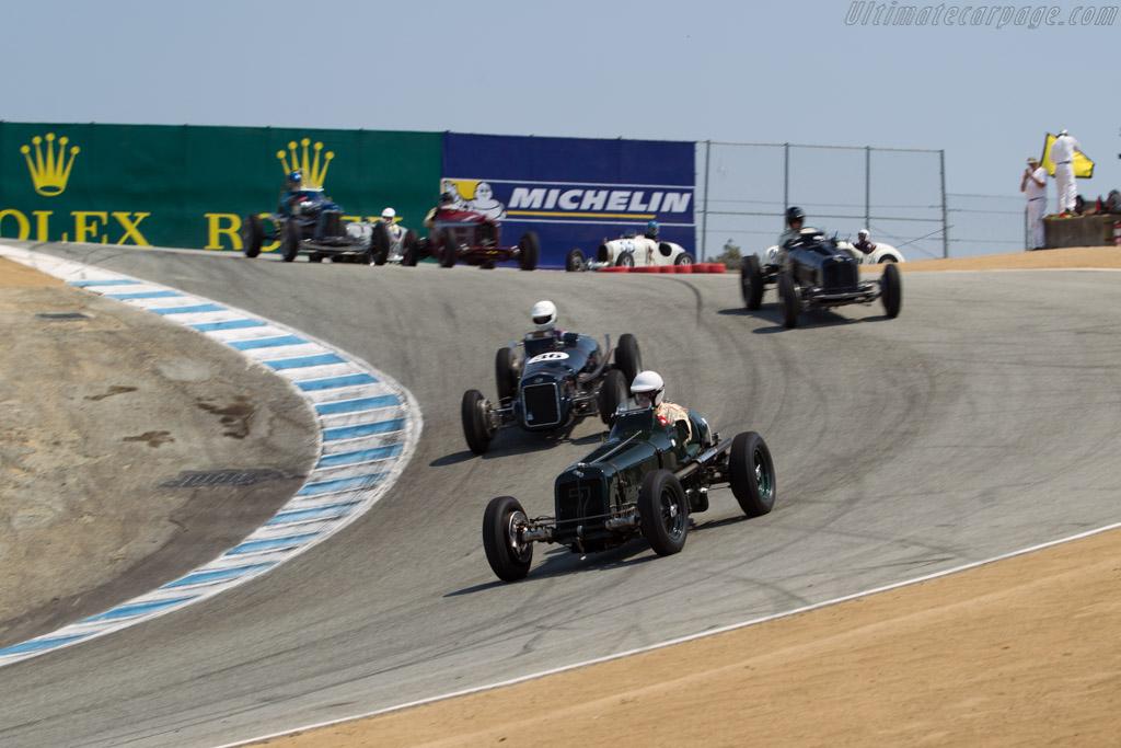 ERA R2A - Chassis: R2A - Entrant / Driver Paddins Dowling  - 2016 Monterey Motorsports Reunion