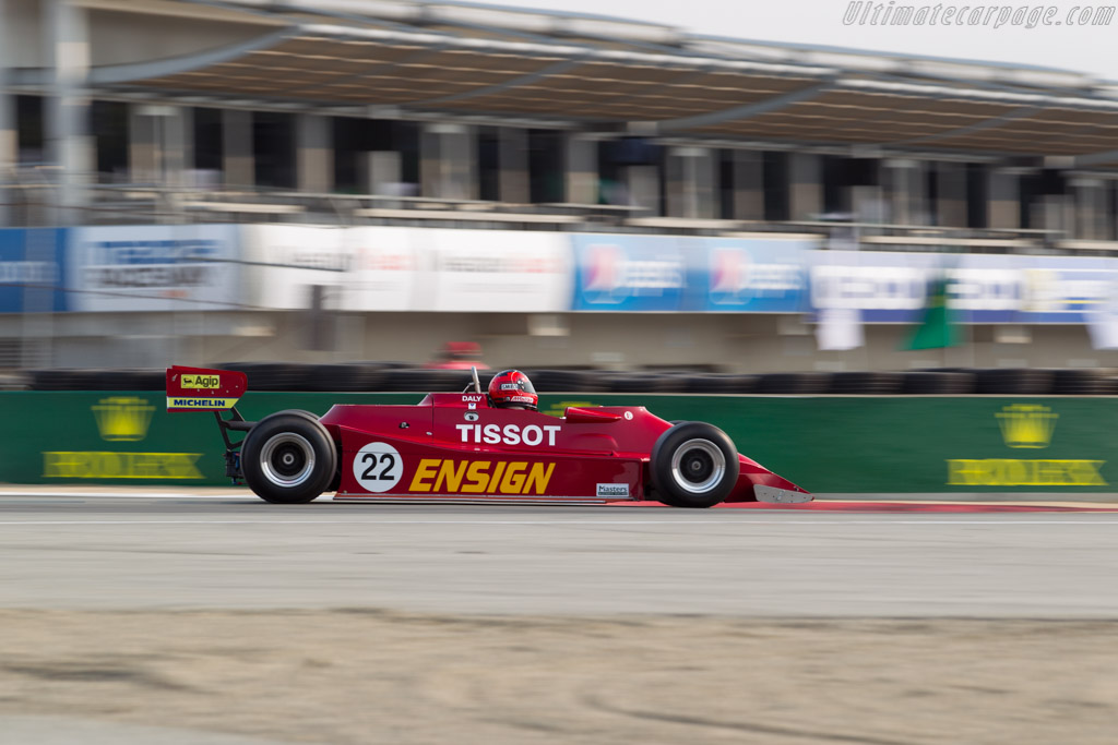 Ensign MN179 - Chassis: MN10 - Driver: Bud Moeller  - 2016 Monterey Motorsports Reunion