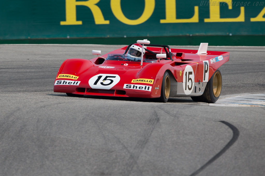 Ferrari 312 PB - Chassis: 0880 - Entrant / Driver Ernie Prisbe  - 2016 Monterey Motorsports Reunion