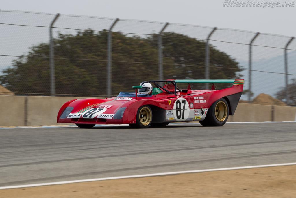 Ferrari 312 PB - Chassis: 0892 - Driver: Bob Earl  - 2016 Monterey Motorsports Reunion