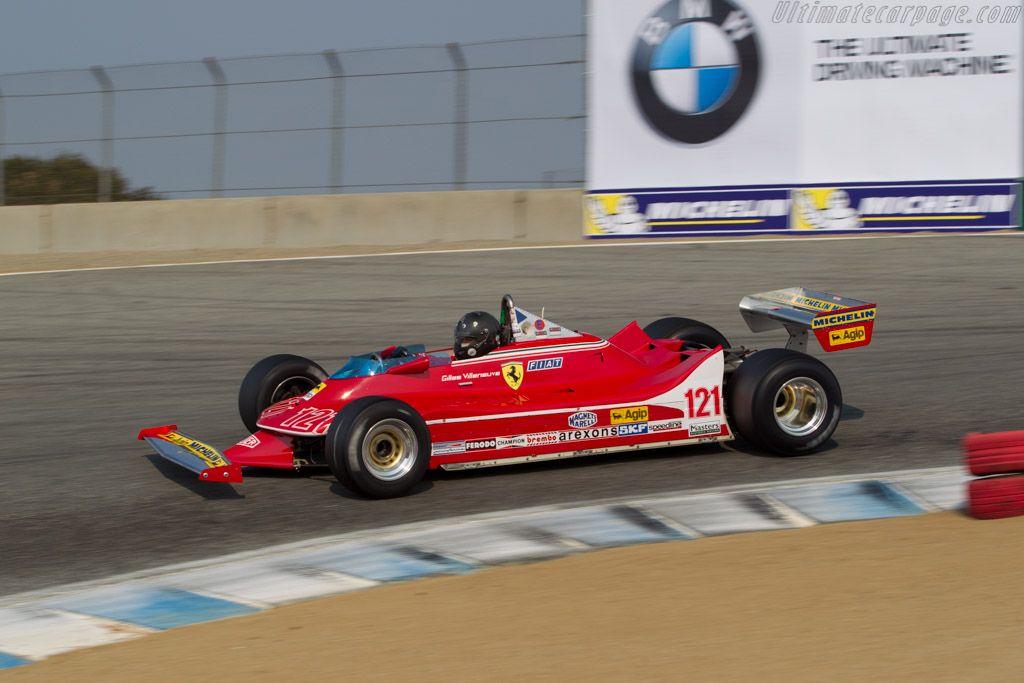 Ferrari 312 T4 - Chassis: 037 - Driver: Danny Baker  - 2016 Monterey Motorsports Reunion