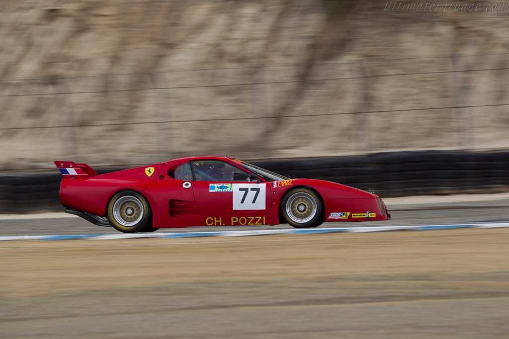 Ferrari 512 BB/LM - Chassis: 31589 - Driver: Lawrence Stroll  - 2016 Monterey Motorsports Reunion
